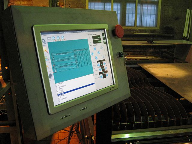 Touch Panel PC with myCNC software